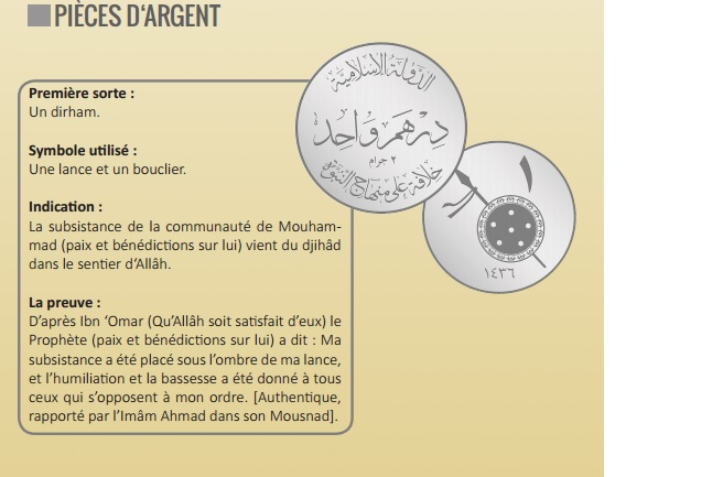 2016 daesh monnaie
