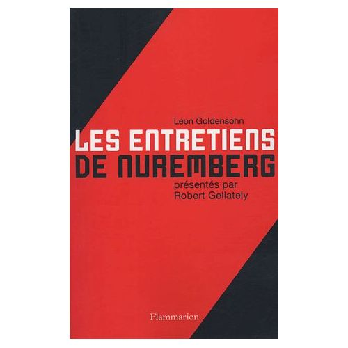 Gellately robert les entretiens de nuremberg livre 893957832 l